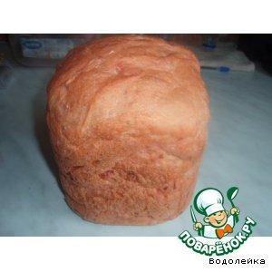 Рецепт: Свекольный хлеб из хлебопечки