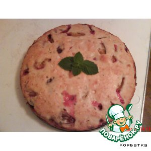 Рецепт: Сливовый пирог