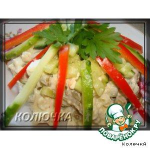 Рецепт: Салат на зимний манер