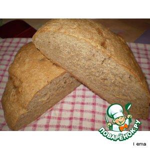 Рецепт: Очень простой серый хлеб