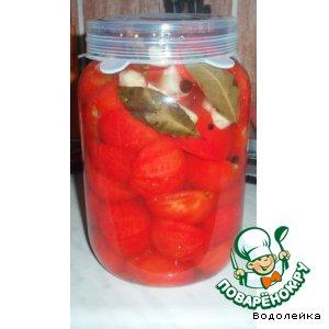 Рецепт Быстрые маринованные помидорчики