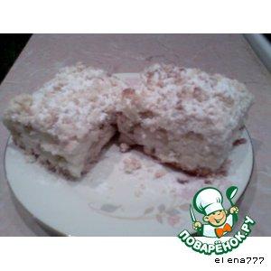 Рецепт: Пирог с грушей и корицей Лакомый кусочек
