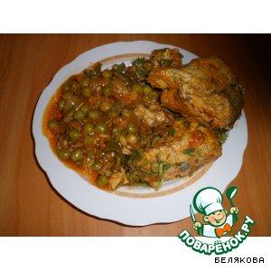 Рецепт: Рыба по-болгарски