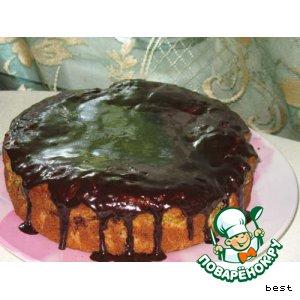Ароматный медово-мандариновый торт