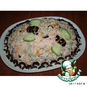 Рецепт: Салат с сельдереем и тунцом