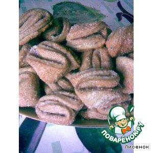 Рецепт: Печенье Ушки