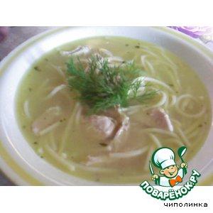 Суп со спагетти