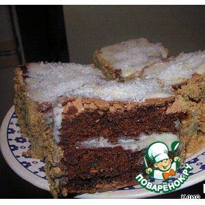 Любимое шоколадное пирожное