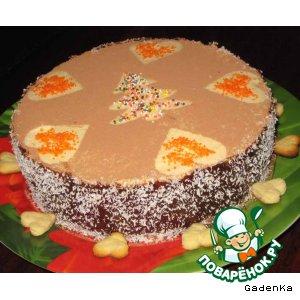 Торт «Пина-Колада»