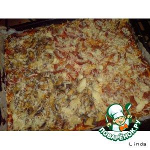 Рецепт: Пицца ассорти