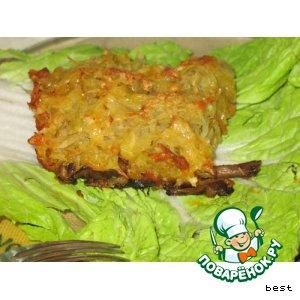 Рецепт: Мясо под картофельной крышкой