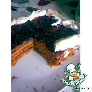 Рецепт: Морковная коврижка