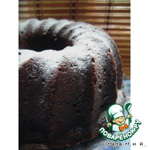 Рецепт: Шоколадный кекс В гости