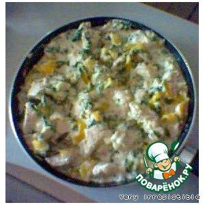Рецепт: Куриные грудки с зеленью