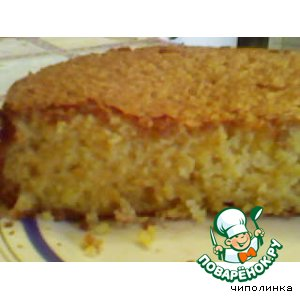 Рецепт: Ароматный апельсиновый пирог