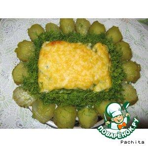Рецепт Запеканка из судака с овощным пюре