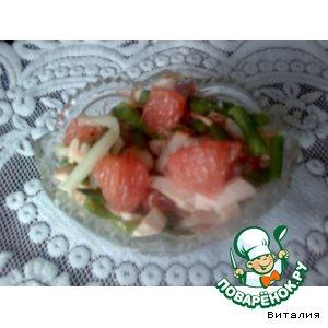 Рецепт: Салат из грейпфрута