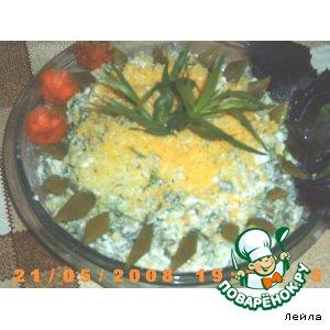 Рецепт: Салат из зеленой стручковой фасоли