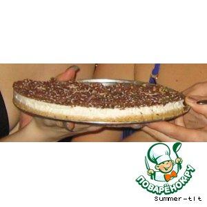 """Рецепт: Творожный торт с сыром """"Мaскарпоне"""""""