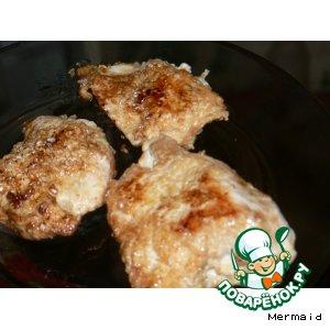 Рецепт: Куриное филе в кунжуте