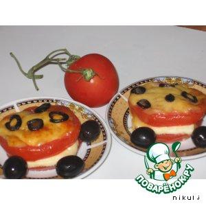 Рецепт: Фаршированные помидоры Италия