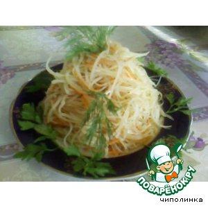 Рецепт: Восточный картофельный салат