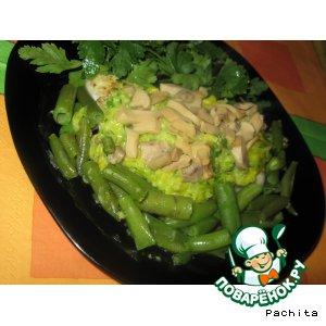 Рецепт: Морской язык с кукурузным соусом
