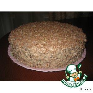 Рецепт: Торт с черносливом