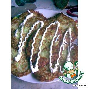 Рецепт: Оладьи из кабачков