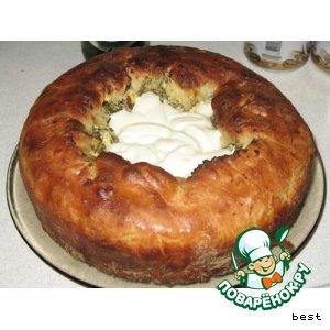 Рецепт: Пирог типа Хачапури