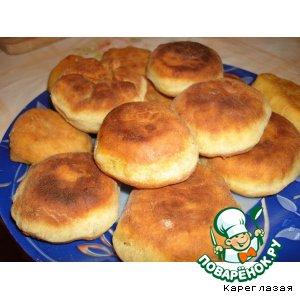 Рецепт: Жареные пирожки на кефире