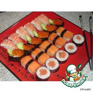 Рецепт: Суши Сакура