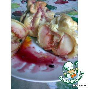 Рецепт: Яблоки в слойке