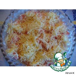 Рецепт: Салат из помидоров Новинка