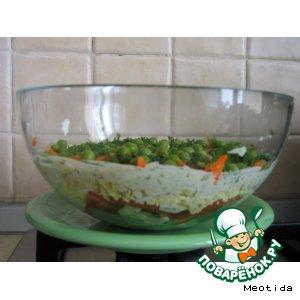 "Рецепт: Салат ""Витаминка"""