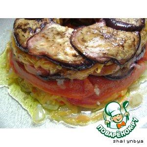 Рецепт Баклажаны слоеные под маринадом