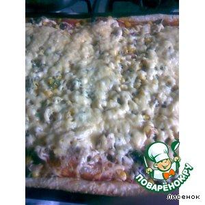 Рецепт: Пицца по-Лисеновски