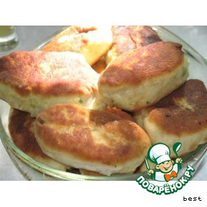 Рецепт: Пирожки весенние