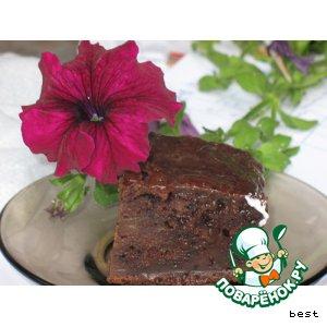 Рецепт: Грушевый шоколадный торт