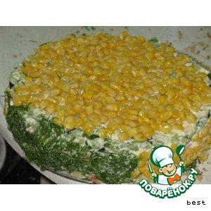 """Рецепт: Овощной торт """"Лето"""""""