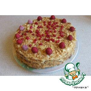 Рецепт: Торт Наполеон от Иришки