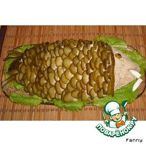 Рецепт: Паштет из картофеля и сельди