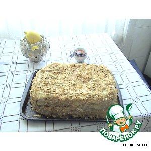 Рецепт: Классический торт Наполеон