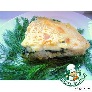 Рецепт: Рыбная лазанья