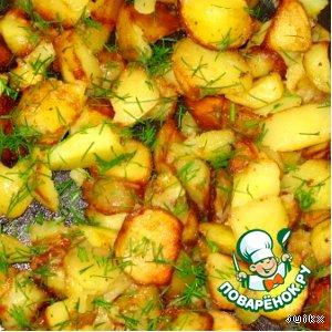 Рецепт: Картошка - праздник души