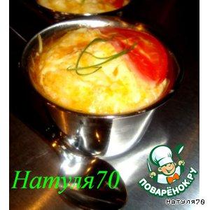 Рецепт: Фриттата с помидорами и вешенками