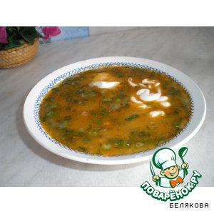 Рецепт: Холодный рыбный суп на рассоле