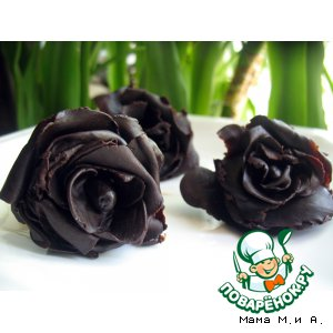 Рецепт: Шоколадно-медовая мастика