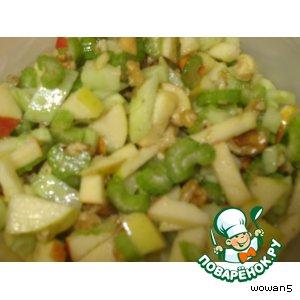 Рецепт: Легкий салат Вальдорф а-ля Клееберг