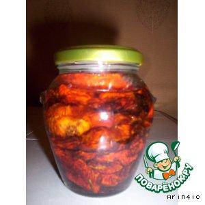 Рецепт: Сушеные томаты